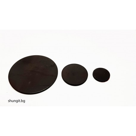 Сет от три защитни пластини  кръгла 50мм диаметър, кръгла 28мм диаметър и кръгла 19мм диаметър