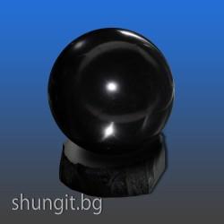 Сфера от шунгит 3,5 см.(полирана)