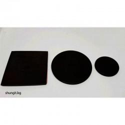 Сет от три защитни пластини квадратна 50x50мм, кръгла 50мм диаметър и кръгла 28мм диаметър