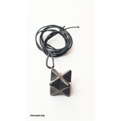 Медальо от шунгит- Меркаба