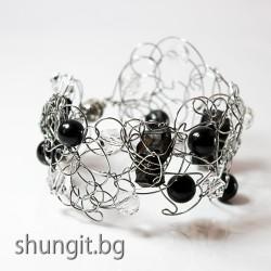 """Дизайнерска гривна от Елит Шунгит """"Красота"""""""