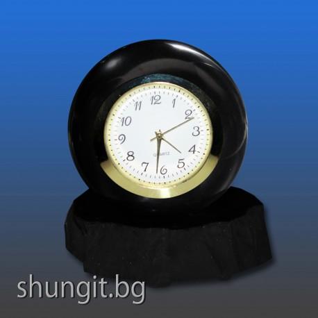 Сфера от шунгит 6 см.(полирана) с часовник