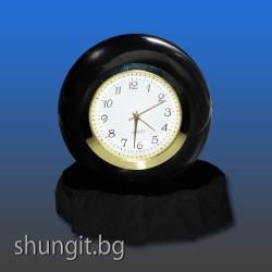 Сфера от шунгит 8 см.(полирана) с часовник