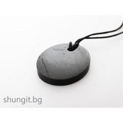 """Медальон от шунгит """"Пролет""""(малък)"""