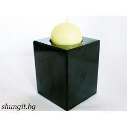Свещник от шунгит - голям