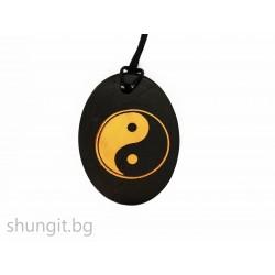 "Медальон от шунгит ""Ин-Ян"""